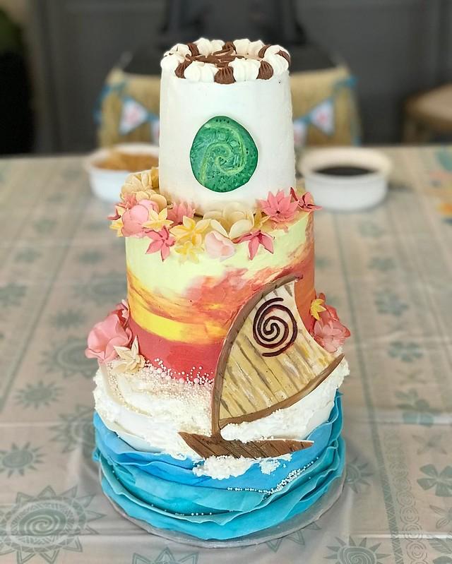 Cake by Strange Bird Custom Desserts