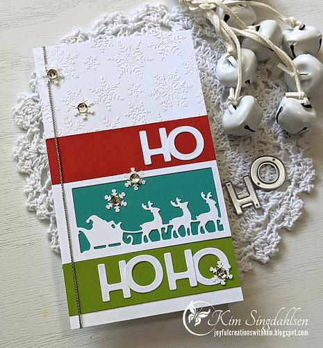 Giving Gifts Ho Ho Ho side