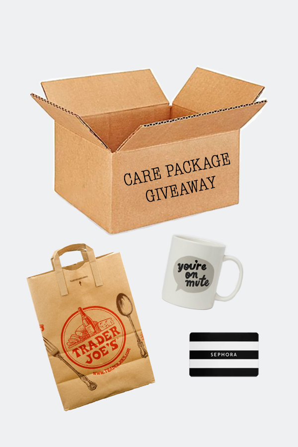 win a care package from the soubrette brunette