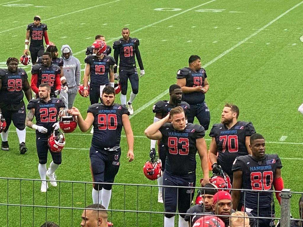 Hamburg Seadevils vs Panthers Wroclaw American Football EFL