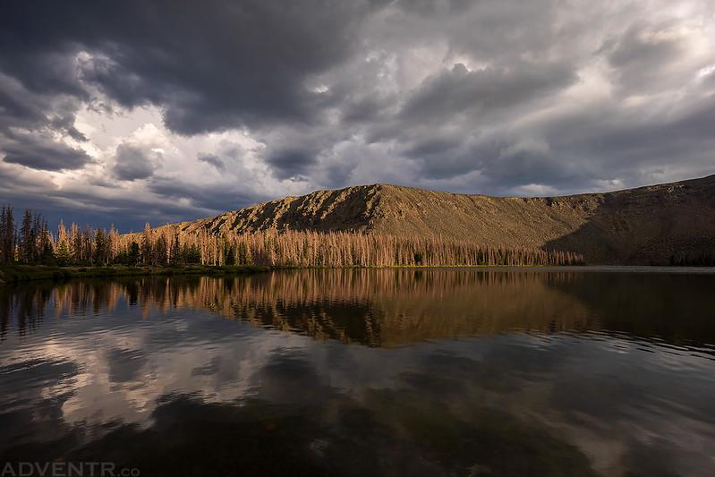 Dark Clouds Reflected
