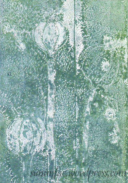 ghost print texture