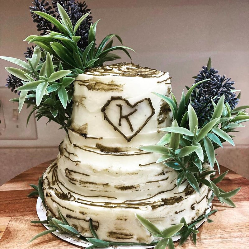 Cake by Sunflowers and Sage