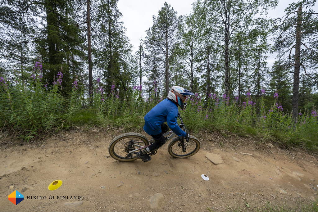 Learning to ride Berms