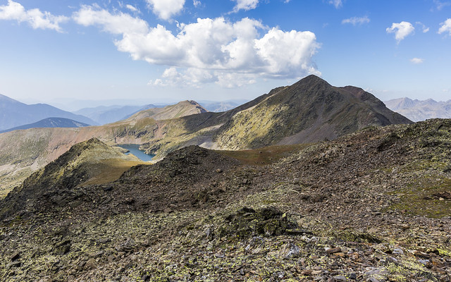 Pic de La Cabaneta 2864m. Andorra
