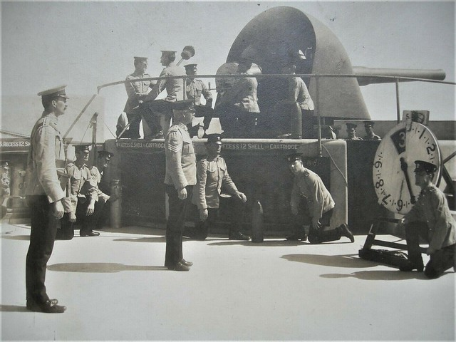 Australia's first shot in the Great War - 5 August 1914