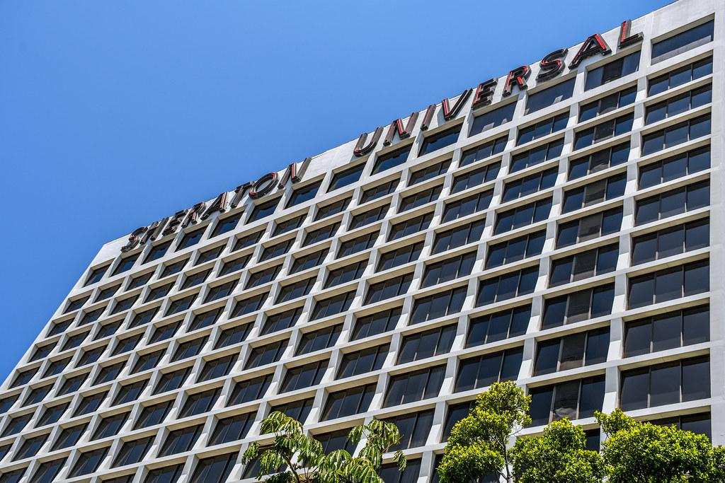 Sheraton Universal facade