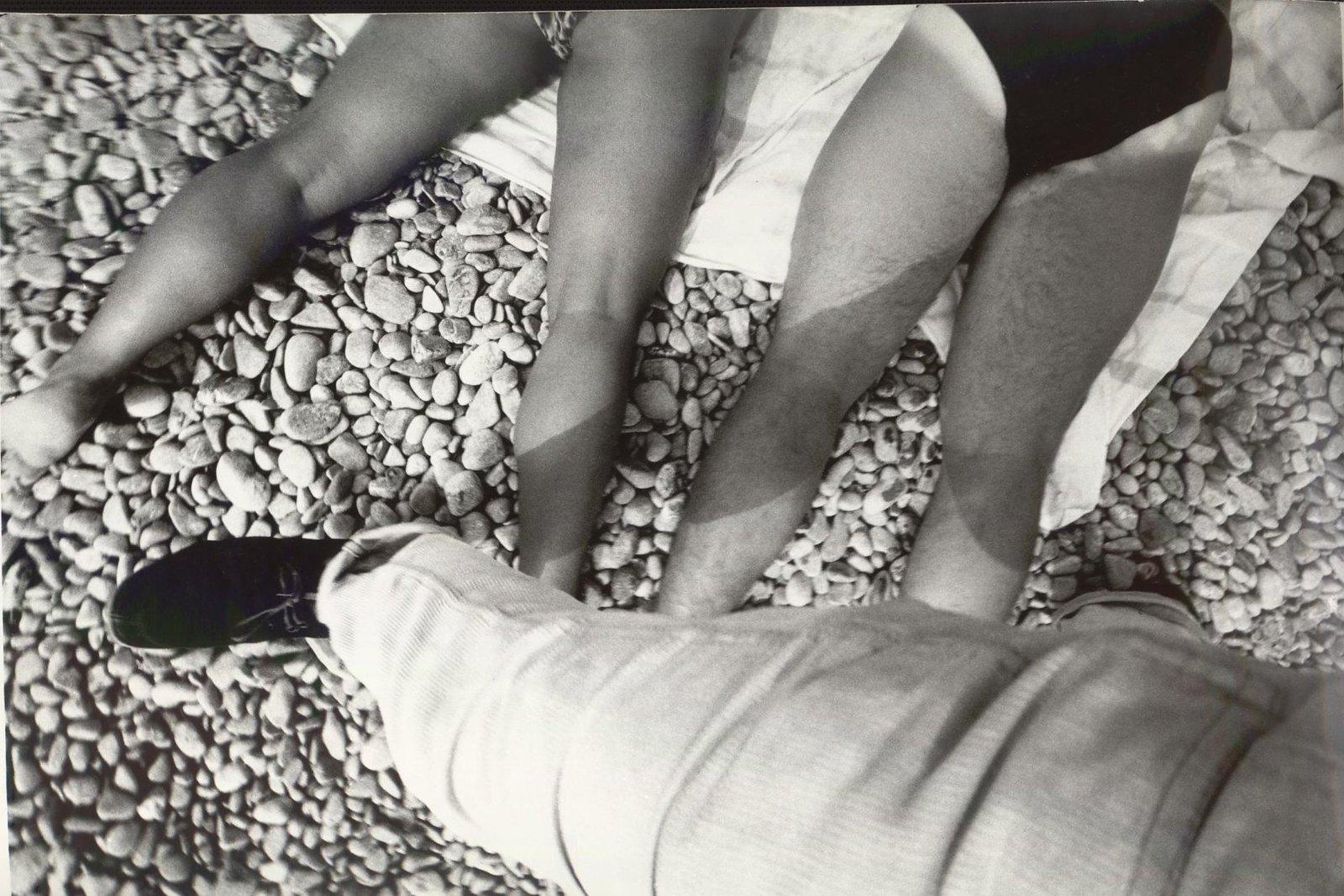 1985. Ялта. Городской пляж. Из серии «Южный берег»