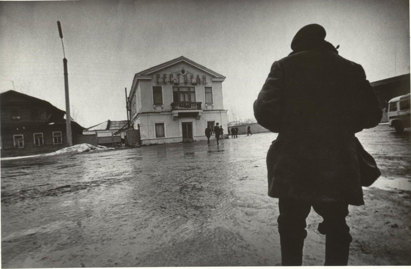 1975. Серия «Городок». Главная площадь