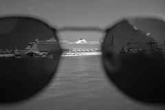 Aida Perla a través de las gafas de sol