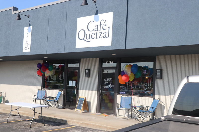 Cafe Quetzal grand opening