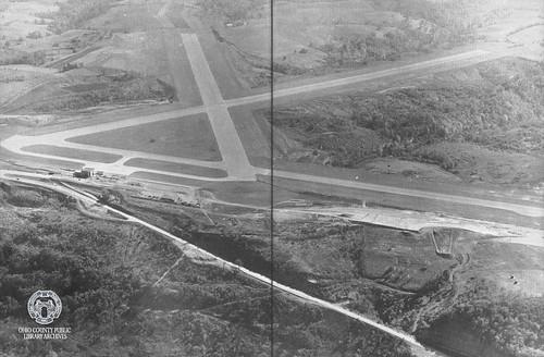 wheelingwv wheeling airport wheelingohiocountyairport aviation aviationhistory stifelfield aerialview wpaproject wpa workprojectsadministration workprojectsadministrationproject