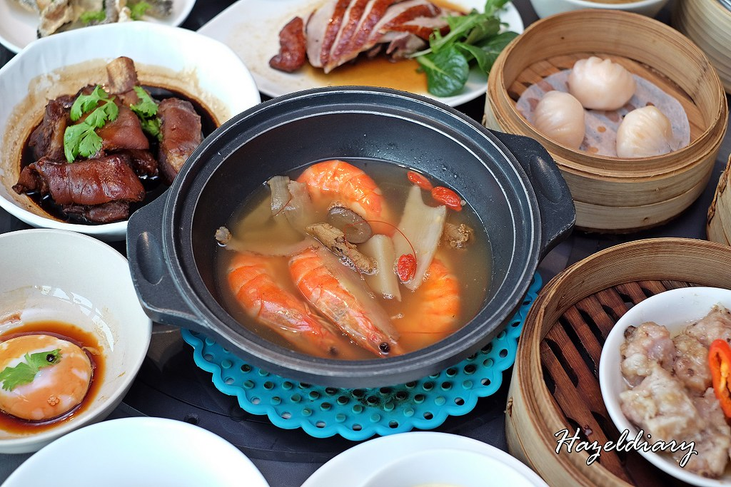 Majestic Bay Seafood Restaurant- Eat All You Can Dim Sum Buffet-Herbal Poached Prawns