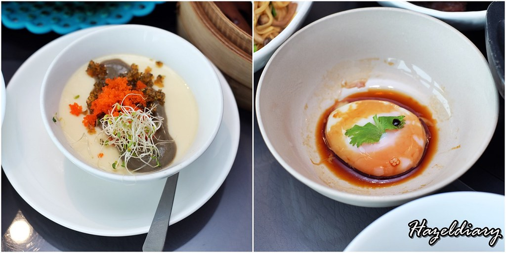 Majestic Bay Seafood Restaurant- Eat All You Can Dim Sum Buffet-Onsen Egg and Chawnmushi