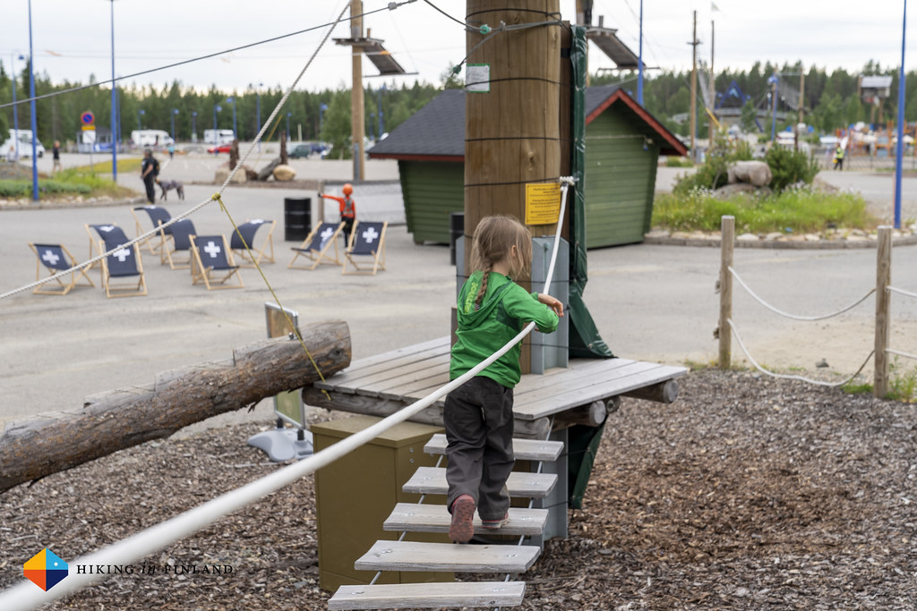 Kids track at Levi Adventure Park