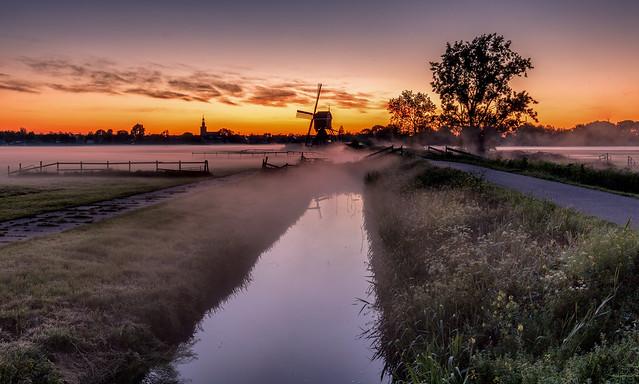 Streefkerk in the morning