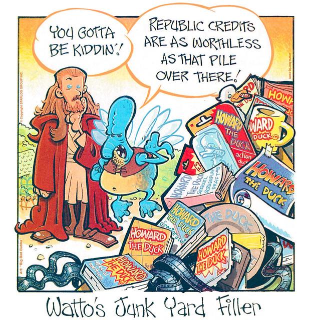 Watto's Gone Quackers   A Starlog Archive Cartoon