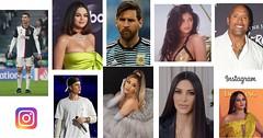 10 contas mais seguidas no Instagram em 2021