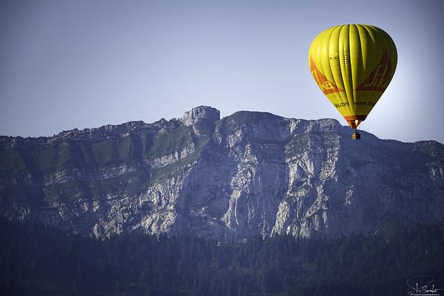 Balloon over Kaltbrunn - St.Gallen - Switzerland