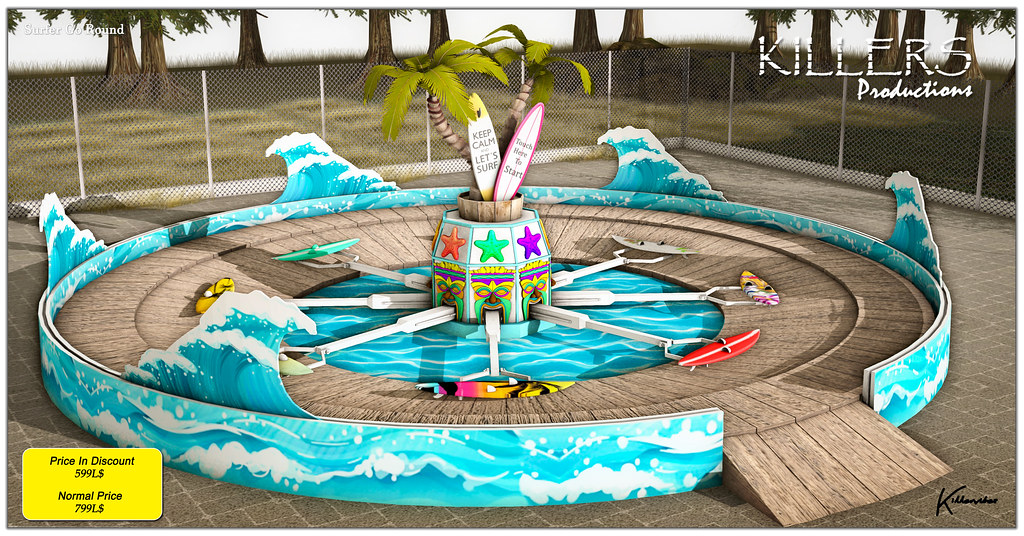 """""""Killer's"""" Surfer Go Round Ride On Discount @ Cosmopolitan Event Starts from 23rd August"""