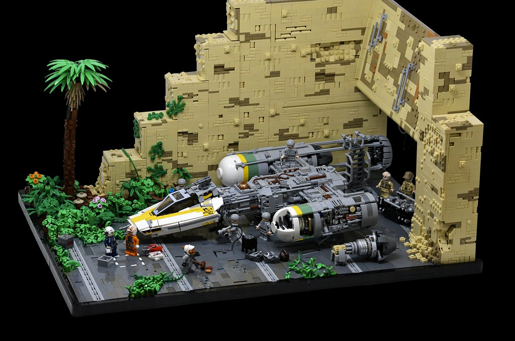 Scrapping for Parts - Y-Wing on Yavin 4