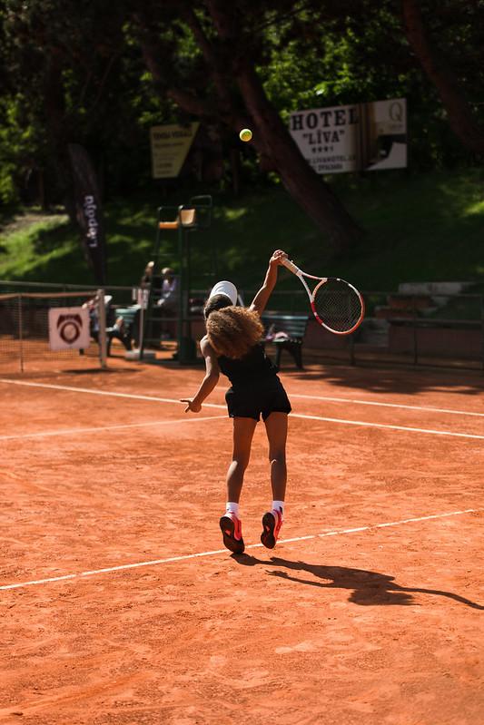 """Starptautiskās Tennis Europe sacensības """"Liepaja International Tournament"""" U12 2.diena. Foto: Mārtiņš Vējš /2nd day Tennis Europe """"Liepaja International Tournament"""" for U12 Photo: Mārtiņš Vējš"""