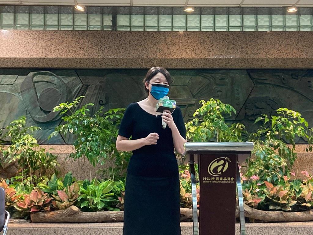農委會主任秘書范美玲。黃思敏攝