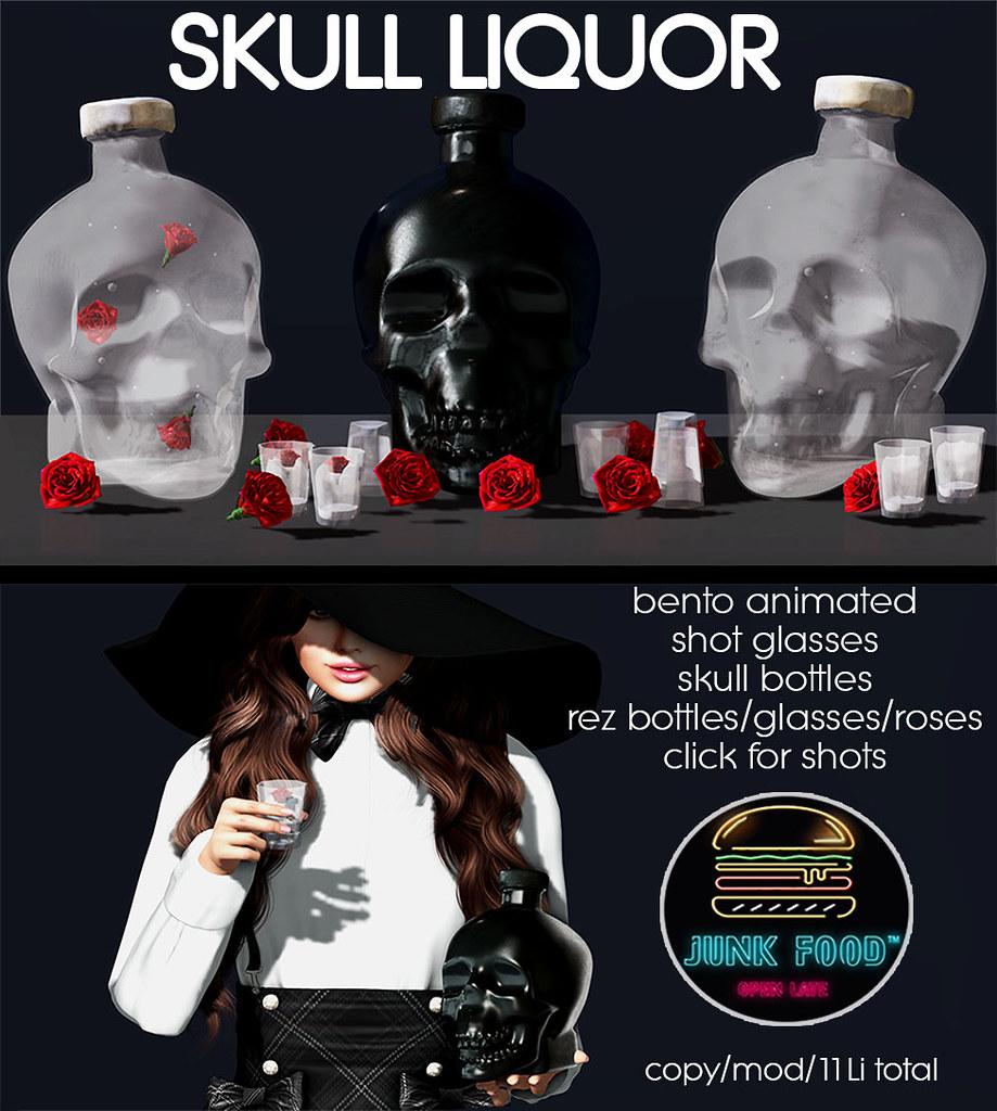 Junk Food – Skull Liqour Ad