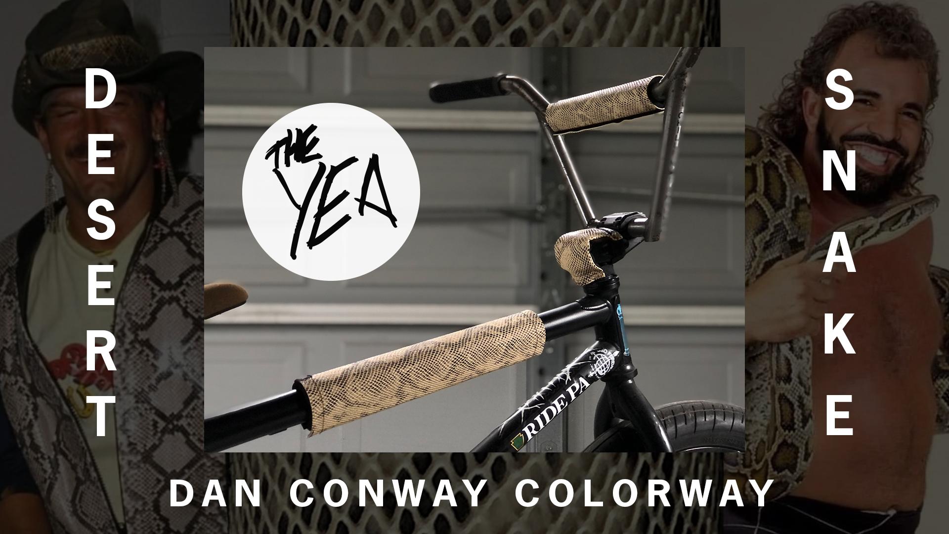 The Yea BMX Desert Snake Dan Conway BMX Pad Set