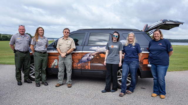 Pictured from left are David Barr, Danielle Woody, Bob Sargent, Haleigh Boyer, Valerie Castanza and Stephanie Kadletz.