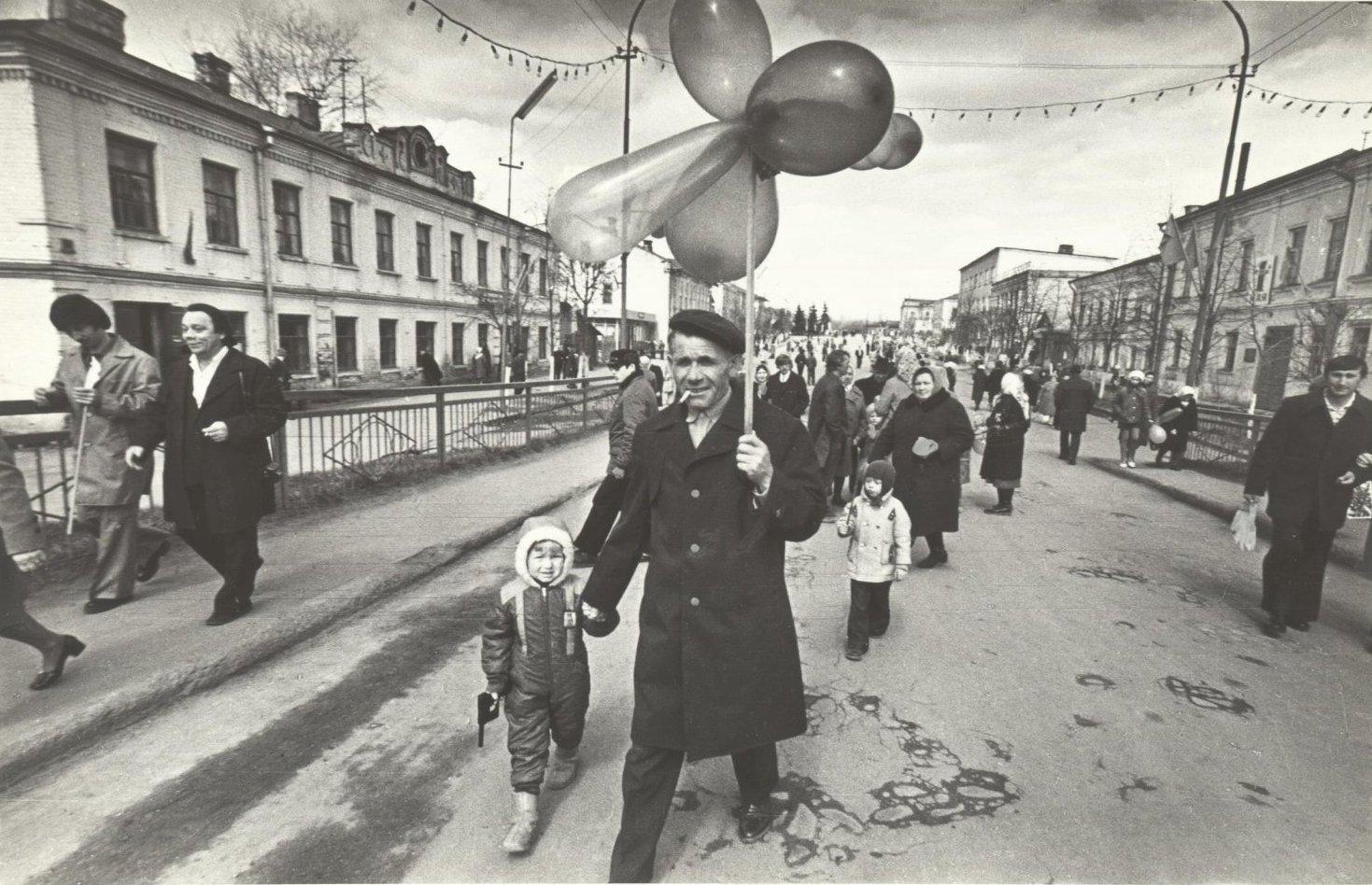 1978. После первомайской демонстрации
