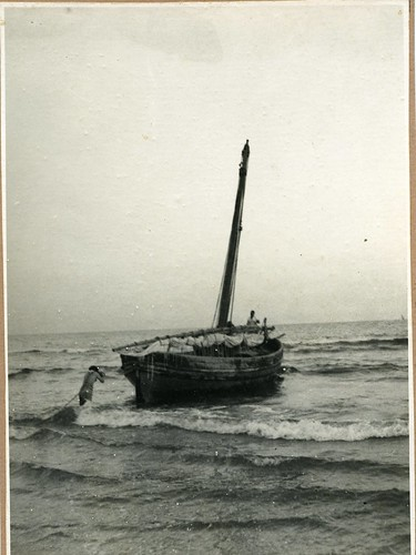 Foto de la Francisca sortint a mar