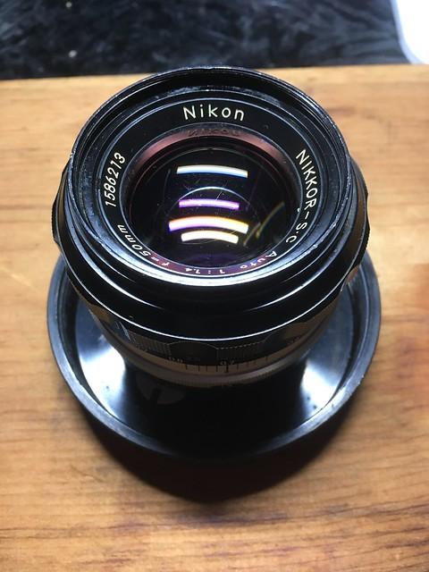 Nikkor S.C Auto 50mm F1.4 を Ai 改造する!!