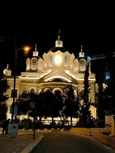 23 августа 2021 г. Троицкий собор стал значимой доминантой западного Иерусалима