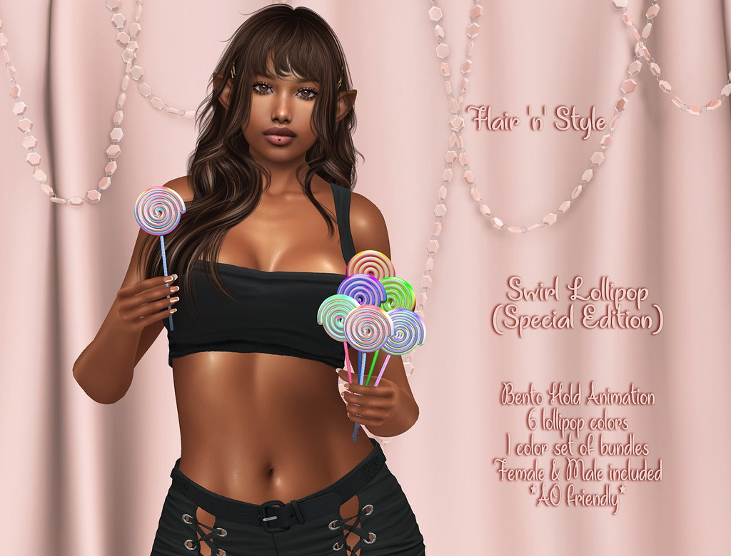 {Flair 'n' Style} Swirl Lollipop (Special Edition)