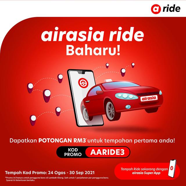 Airasia Super App Lancar Perkhidmatan E-Panggilan Dengan Airasia Ride