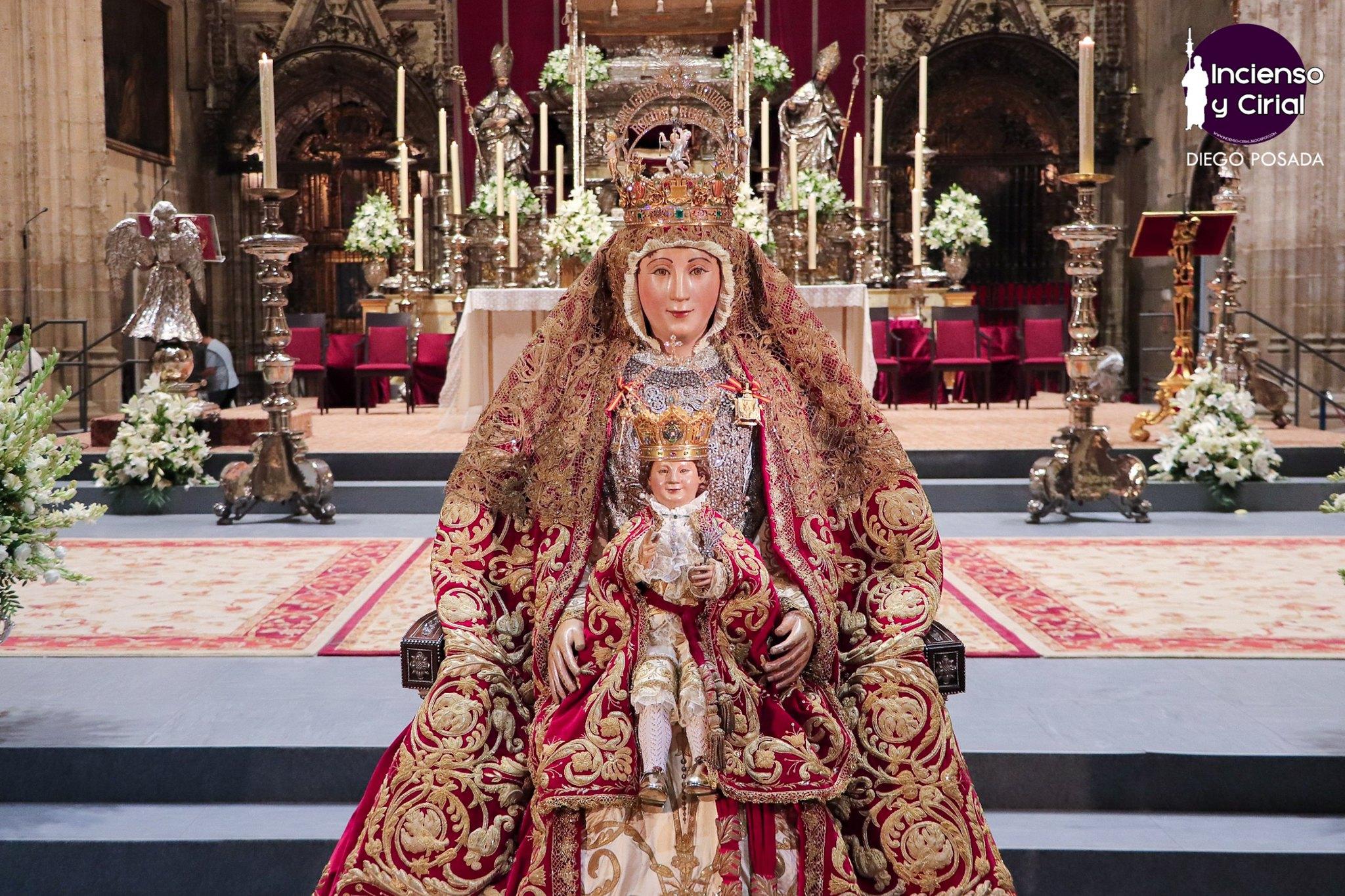 La Virgen de los Reyes, de nuevo en el altar del Jubileo durante el 15 de agosto