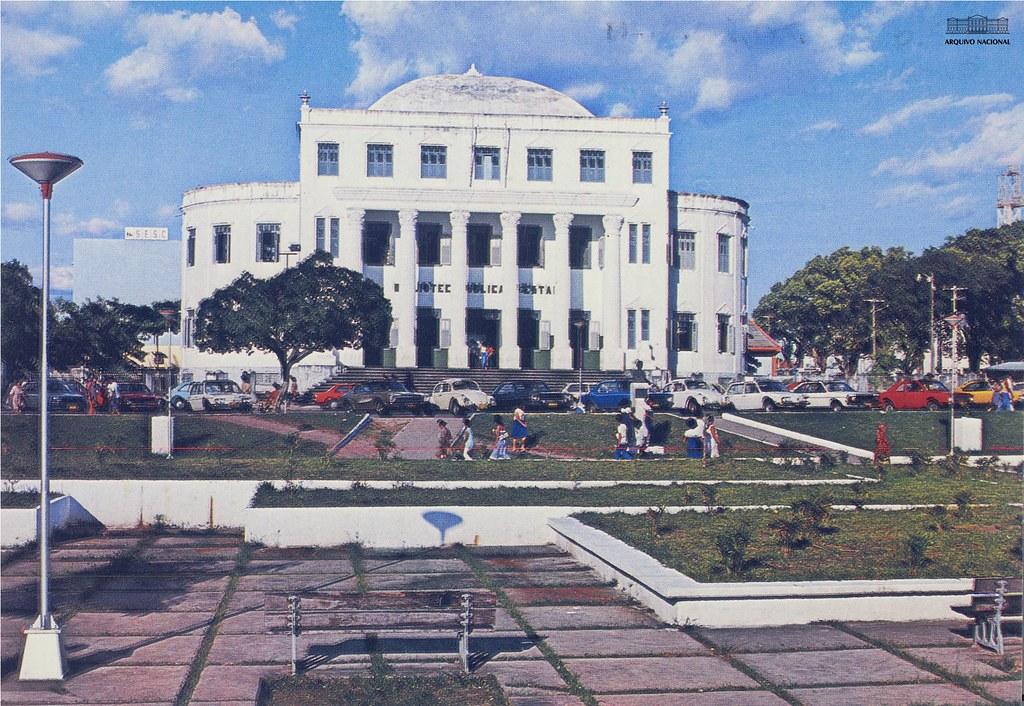 Biblioteca Benedito Leite, década de 1980