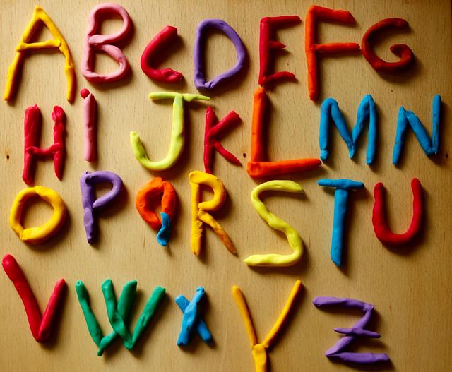 ...mi abecedario.