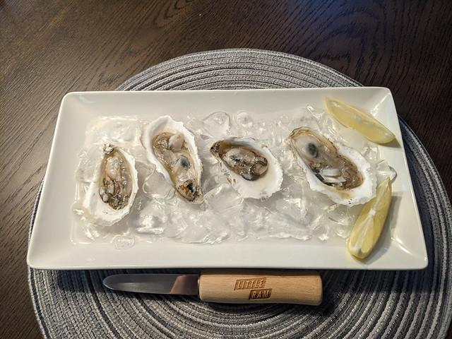 Little Ram oysters!