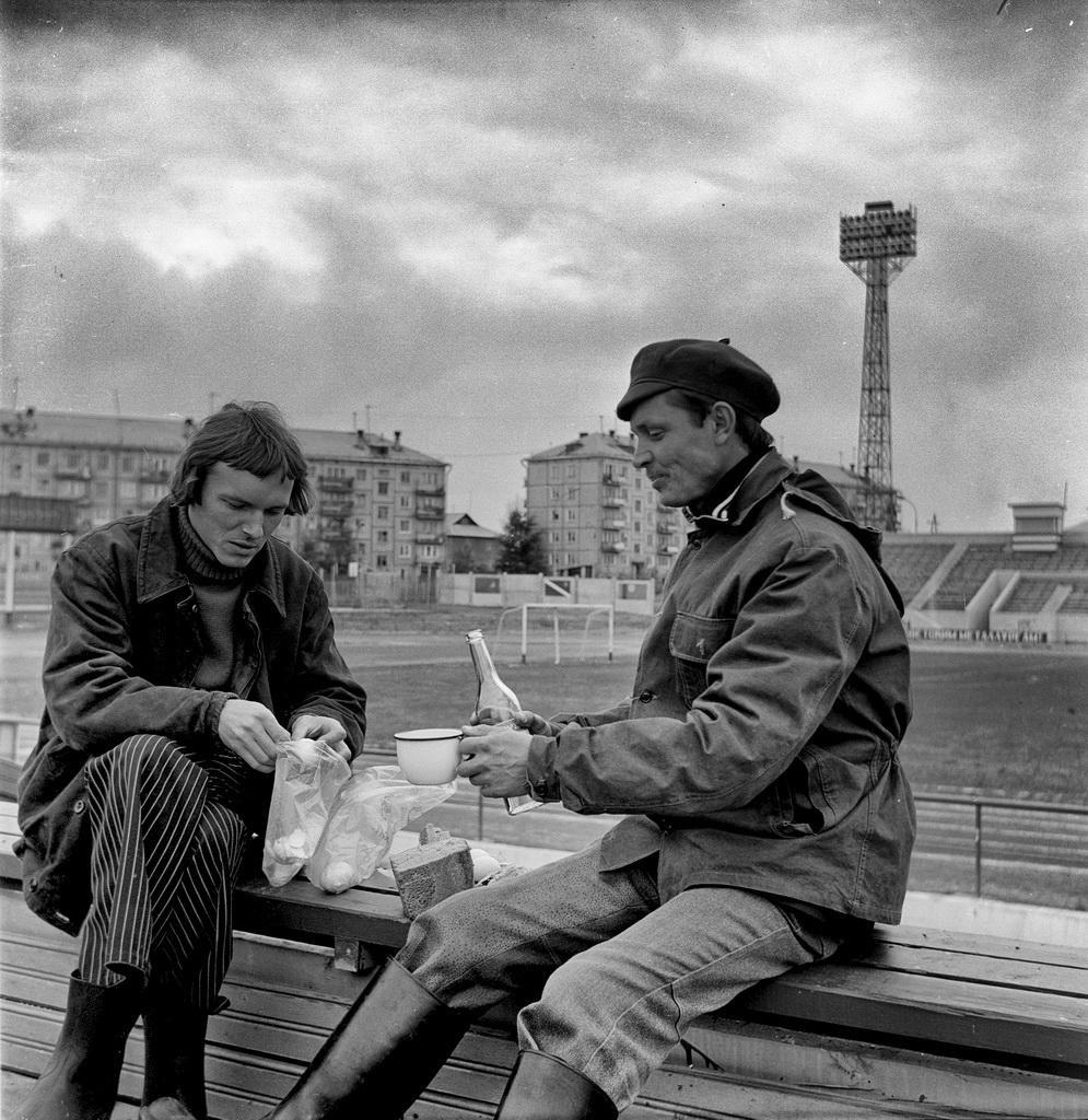 1982. Братск. Стадион Металлург