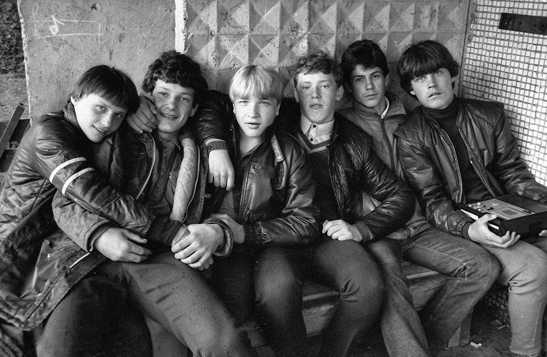 1978. Братск. Пацаны