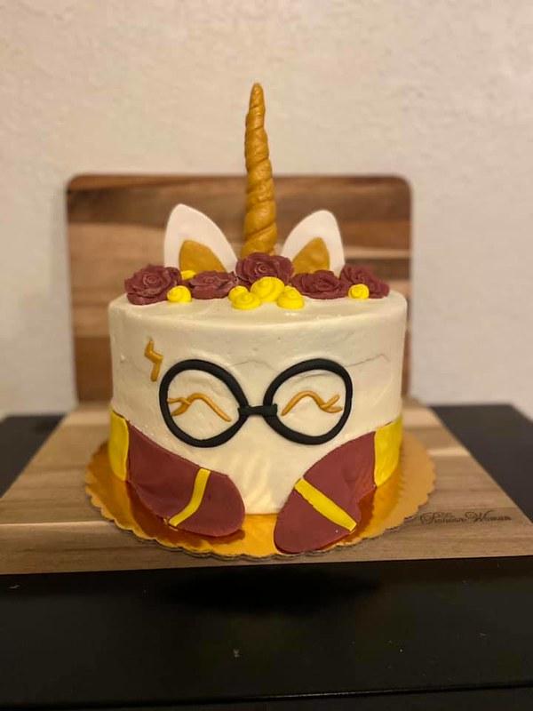 Cake by Sweet O's Bakery