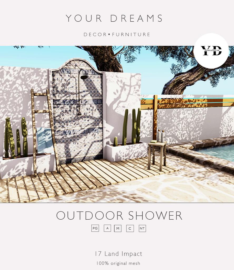 {YD} Outdoor Shower