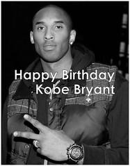 Kobe Bryant - Happy Birthday
