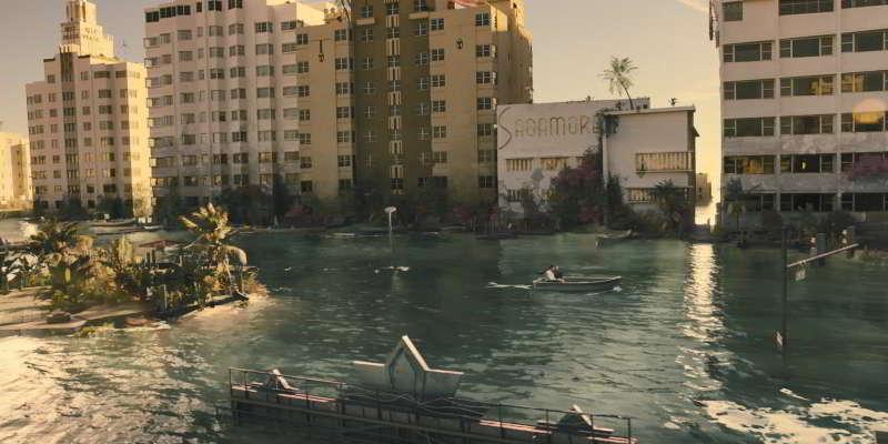 Submerged Sagamore Hotel