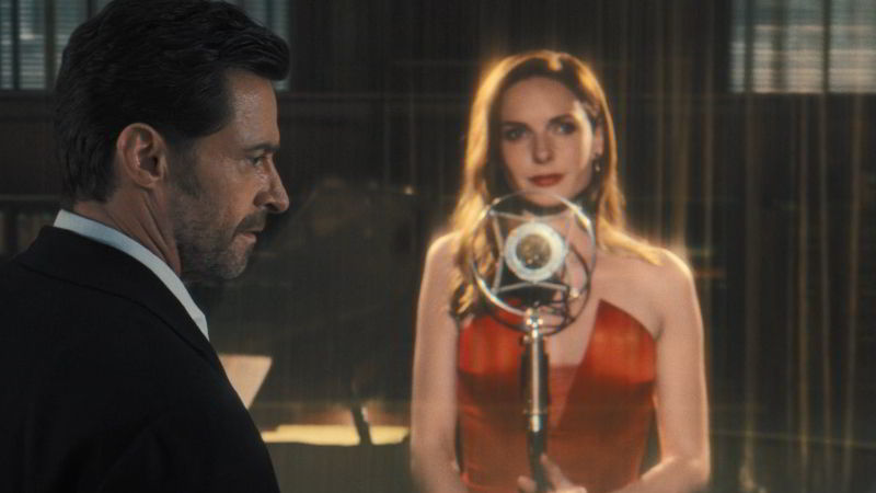 Hugh Jackman and Rebecca Ferguson