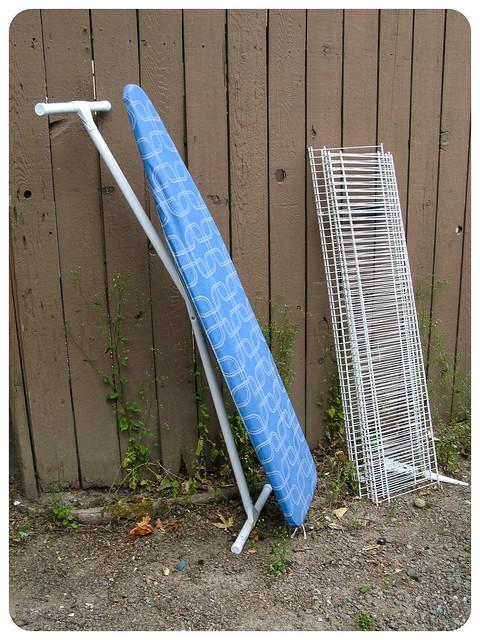 Ironing Board and Shelf