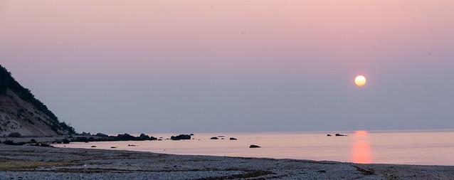 sunset @ Edward's Beach