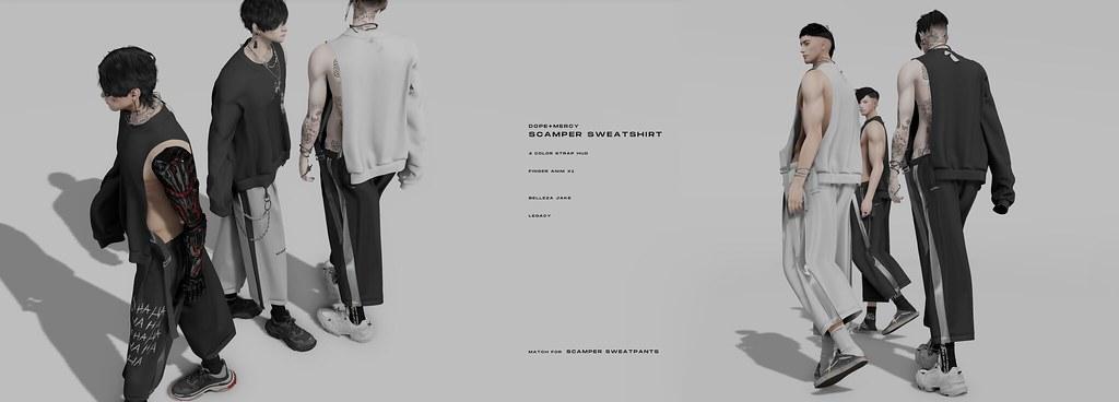 [Dope+Mercy]SCAMPER Sweatshirt @ The Warehouse Sale
